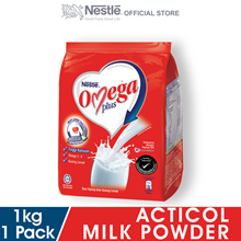 NESTLE OMEGA PLUS Milk Powder Softpack 1kg