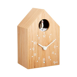 SEIKO 아날로그 뻐꾸기 시계 천연나뭇결 NA609A