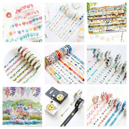 Washi Tape / Masking Tape / Sticker / Tapes / Scrapebook / DIY /Craft