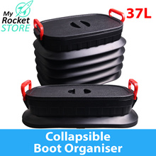 Waterproof Collapsible Car Boot Organiser Groceries//Shopping/ Tidy Neat /Foldable/ Container