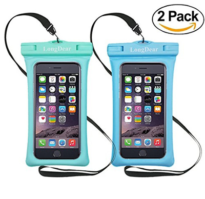 new arrival 9ff22 de9ef [LONGDEAR] Universal Floating Waterproof Case,Cell Phone Pouch Dry Bag for  iPhone X/8/8plus/7/7plus/