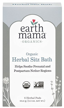 ❤️$1 Shop Coupon❤️Earth Mama Organic Herbal Sitz Bath for Pregnancy and Postpartum 6-Count