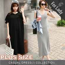21st Feb Update New Arrivals ♥Korean Style Dress♥ Linen Dress / Casual / LOOSE Fit  / Plus Sizes