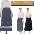 [ ON SALE ] All Collection Long Skirt Size Available / Soft Jeans/ Dept Store Quality