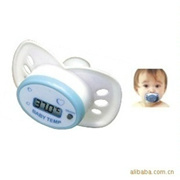ROCKPackagae Baby Care Portable Digital LCD pacifier thermometer baby nipple soft safe Mouth Thermom