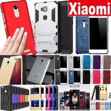 ★Xiaomi Case★ Lowest Price Tempered Glass leather case for xiaomi max remiNote 4 4X 4a Mi 6 4A Note
