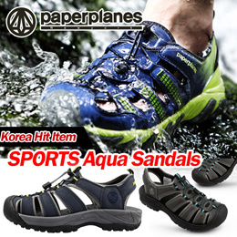 535d314d62ca  Paperplanes SNRD  Made in Korea Unisex Sports sandals   Aqua Shoes    Slippers