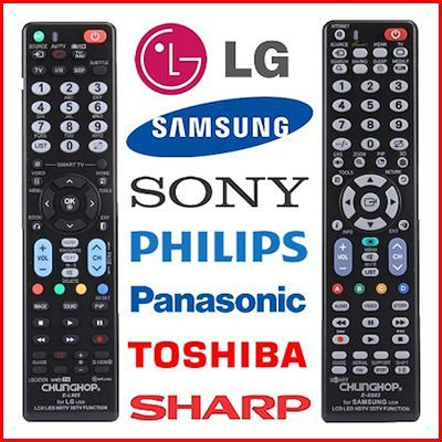 UNIVERSAL ★ TV Remote Control Plug N Play No Setup No Codes Required  Controller For All TV Brands