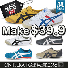 ★SUPER SALE★ Onitsuka Tiger Mexico66 Simply Women Men Casual Sneakers Comfort Shoes
