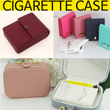 Korea brand[FROMb]cowhide cigarette holder/CUTE RIBON COWHIDE CIGARETTE CASE/Etiquette/Pouch
