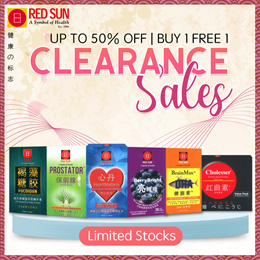 [RED SUN] 🔥UP TO 50% OFF | Buy 1 Free 1 - Clearance Sales🔥 - Japan Health Supplements