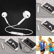 New Unisex Bluetooth Wireless Stereo Sport Headset Earbuds Earphones In Ear Gym