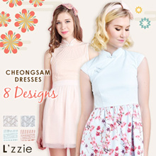 ♥ L'ZZIE CHEONGSAM COLLECTION DRESS ♥  Women Fashion | Bestseller | CNY SALES SPECIAL