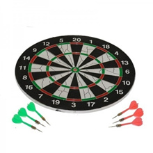 Brand New Professional 17 18 inch Dart Board Galore. Dual Target Sides. Set comes with 6 Steel tip darts. Local SG Stock and warranty !!