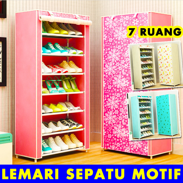 8th Lemari Sepatu / Motif Deals for only Rp155.000 instead of Rp155.000