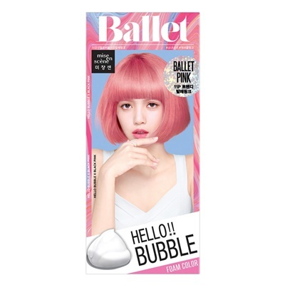 Mise en scene Hello bubble 11P Ballet pink