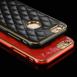 XUENAIR phone shell / iPhone5 / 5S / iPhone6 / iPhone6 PLUS series phone sets / metal frame leather cover / iPhone6 / iPhone6 PLUS protective shell