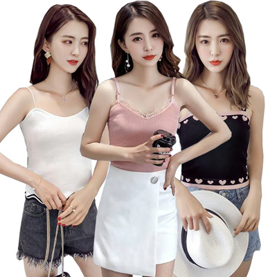 Camisole short sexy / high quality vest / sleeveless T-shirt series / T-shirt / wear / home service