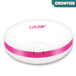 [CRONTIER] JIE KANG CE-3500 Ultrasonic contact lens cleaner US automatic cleaning machine box OEM