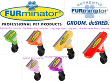 Instock! Furminator Professional deshedding tools for pets Pet care hair device Cats and dogs Brush
