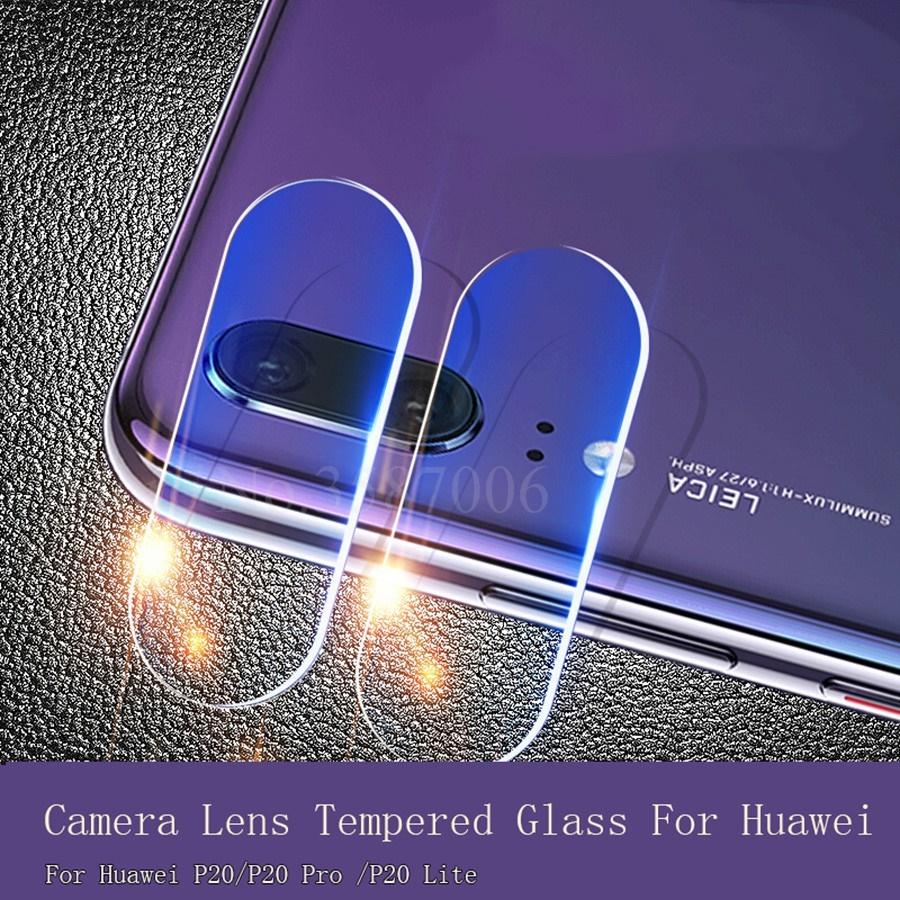 2Pcs Huawei P20 Back Camera Lens Tempered Glass Huawei P20 Pro Full Cover  Film Tempered Glass
