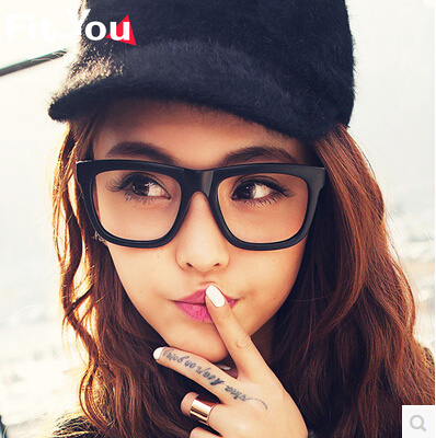 f0a43f351d3 Fashionable tide decorative spectacle frames without lenses block eyeglass  frames for men and women Korean version