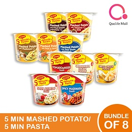 [NESTLE] Mashed Potatoes + Maggi Pasta! BUNDLE OF 8!