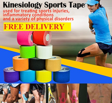 Kinesiology tape/Kinesio tapes/10 colors/Rigid tape/Brown tape/Sports tape/Strapping tapes/Rehab tap
