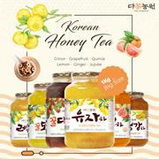★Korean Honey Citron Tea★1kg Big Size/Korean Food/Korean Drink/Korean Tea/Ginger/Jujube/Quince/Lemon