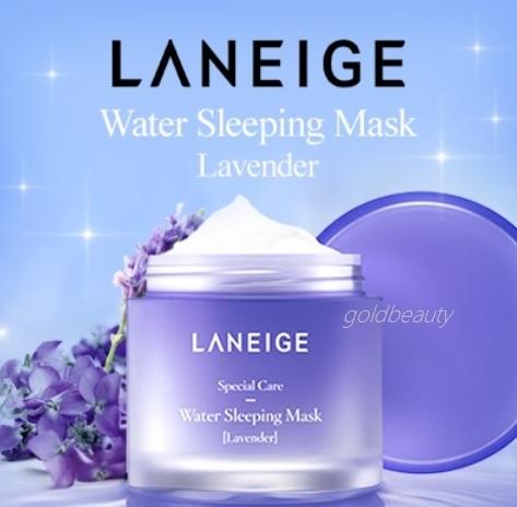 New LANEIGE Sleeping pack Mask Lavender Skin Refiner Emulsion Light Moisture Cream Duo Time Freeze ! Deals for only S$24.9 instead of S$0