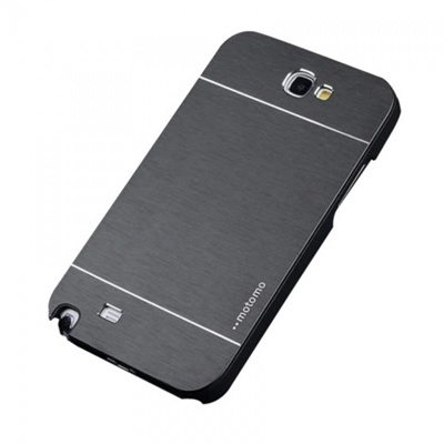 Motomo Alloy Brushed Metal Hard Back Case Samsung Galaxy S5 Ino-Metal case -black