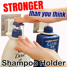[2 PCS ] Super Strong * Shampoo Holder * Bathroom Organization * Fit to 28-32mm Hair Treatment