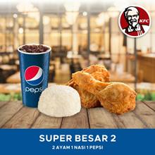 [FAST FOOD] KFC Paket Super Besar 2