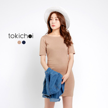 TOKICHOI - Bodycon Dress with Ribbon-170469