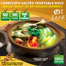 ★ Healthy Cordyceps Salted Vegetable Duck ❤️ Massive Nutrients Ready-to-Eat