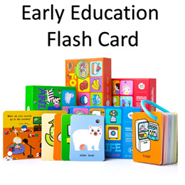Baby Ring Flash Card For Early Education | Education Toy for Baby toddlers | Bundle Set !