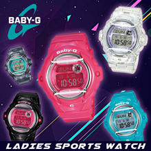 CASIO BABY-G BG-169R SERIES LADIES SPORTS WATCH