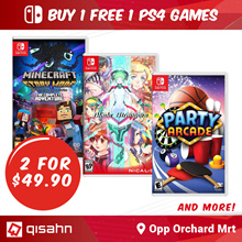 Buy 1 Get 1 Free Switch Games // Choose any 2 for S$49.90