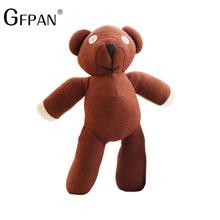 1pcs 35cm Genuine Mr. Bean Teddy Bear The Tactic Stuffed Toy Creative Bear Cute Plush Toys Dolls Bir