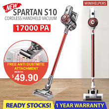 【Introductory Offer】SPARTAN S10 17kPA Suction Power | Cordless Vacuum | All New Flagship Model❗