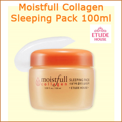 FREE SHIPPING[Etude House]☆Etude House☆ Moistfull Collagen Sleeping Pack (100ml