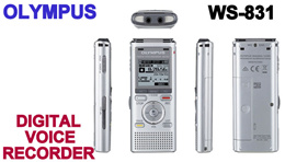 OLYMPUS DIGITAL VOICE RECORDER WS-831