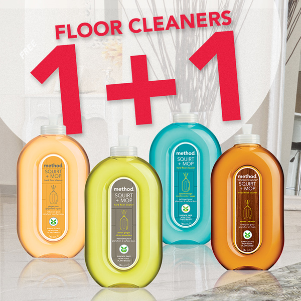 Buy Method Floor Cleaner Squirtmop Hard Or Wood Floor Asst