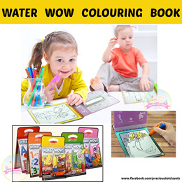 [New Design- Paw] Magic Colour book * Water Painting * Travel Toy * Drawing * Cards