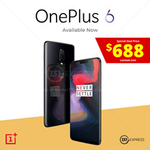 OnePlus 6 | 64/128/256GB | 3 Color | Order Will Process on First Come First Serve Basis