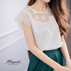 MAYUKI - Blouse With Crochet Detail-5024169