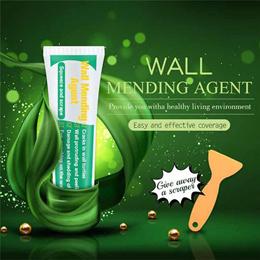 100ml Wall Mending Agent Wall Repair Cream Wall Crack Mend Self-Adhesive Drywall Free Scraper