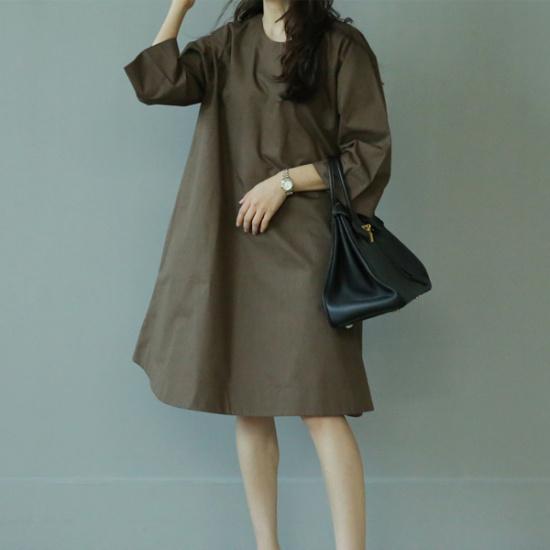 ビナイン利根ワンピース 綿ワンピース/ 韓国ファッション
