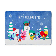 [BT21] 2019 winter blanket / BT21 Official / BT21 Goods / BTS / LINE FRIENDS genuine