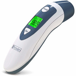 IProvoen Baby Forehead Thermometer with Ear Function- iProven DMT489 Gray Cap - FDA and CE Approved